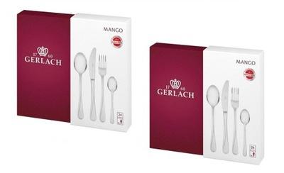 Gerlach Манго NK04G комплект столовых приборов 2x 24el 12 ???