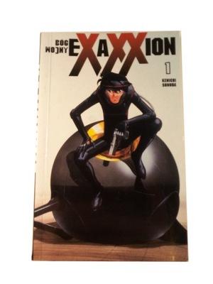 EXAXXION BÓG WOJNY tom 1 - manga