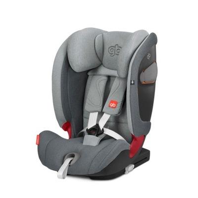 Autosedačky - GB autosedačky EVERNA-FIX 9-36 kg Sivá top tether