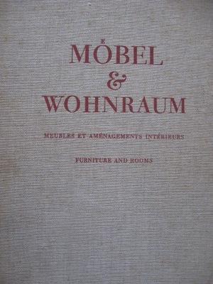 Мебель Проекты разные предмет МЕБЕЛИ WOHNRAUM 1946