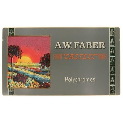 Retro Polychromos farebné Ceruzky 12 farba mini Faber-Castell