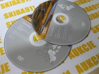 AUDI RNS-E SEAT EXEO 2020 DVD MAPAS POLACO EUROPA