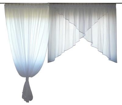 Opona Tylu Záclony Obálky Závoj 350x150 Balkón