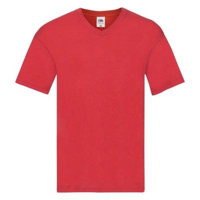 KOSZULKA T-SHIRT W SEREK FRUIT ORIGINAL red M