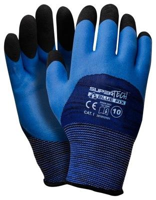 перчатки рабочие ТОЛСТЫЙ Пена +латекс 10