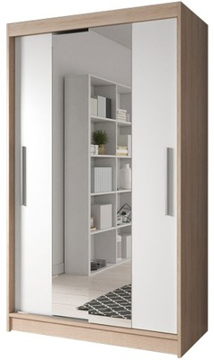 шкаф - купе NEOMI 01 120 сонома зеркало +полки