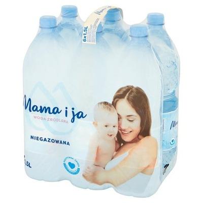 Мама и я вода негазированная родниковая 6sztuk*1 ,5Л