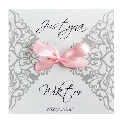 Zaproszenia na ślub, zawiadomienia ślubne +KOPERTA