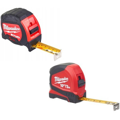 Merania merania ruleta STUD MILWAUKEE 5 m a 3 M LED