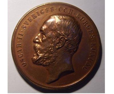 Швеция Медаль Союз офицеров стокгольма 1903