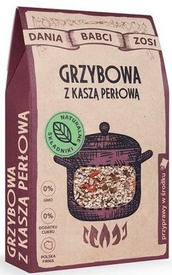Грибной суп с гречневой жемчужную бабушки Зоси 85г SYS