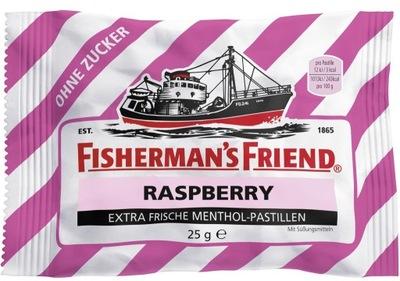 FISHERMAN'S FRIEND RASPBERRY ТАБЛЕТКИ ??? сахара DE