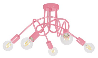 Lampa prívesok lampa stropný luster deti PASTI RUŽE