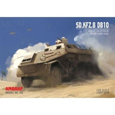 Angraf 105 - трейлер Sd.Kfz. 8 / DB10 1 :25