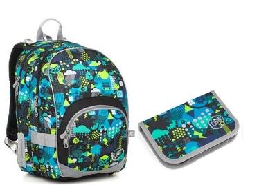 Nastaviť školský batoh + peračník, Topgal 18011