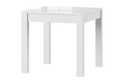 стол VEGA Белый блеск 80X80-230 СМ