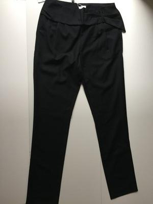 SOLAR spodnie czarne rbiale listki ozmiar 38M