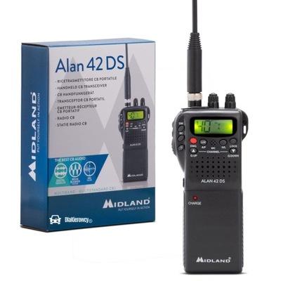 ALAN CB RADIO RĘCZNE ADAPTER DO AUTA AKCESORIA X7H