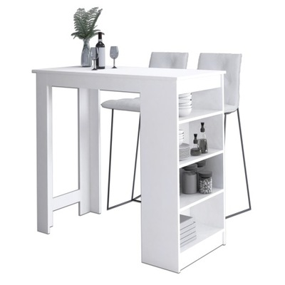 БАРНЫЙ СТОЛИК ПОД Hoker 115см стол Кухня Белый