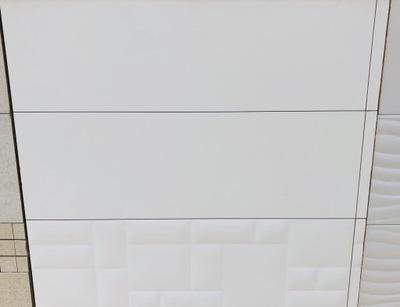 плитки настенные 30X60 белое черные мат