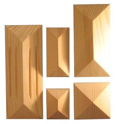 PILASTRY DREWn piramidki koperty wszystkie wymiary