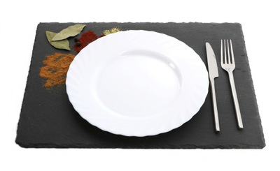 Камень доска ??? сервировки блюд ШИФЕР 30x40cm MPL