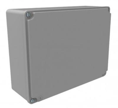 Hliníkové plechovky 190 mm x 170 mm x 90 mm IP67