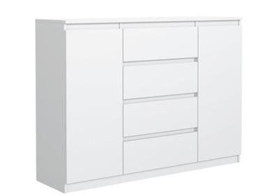 белая КОМОД 140 см 4 ящика 2 двери ОТ от производителя