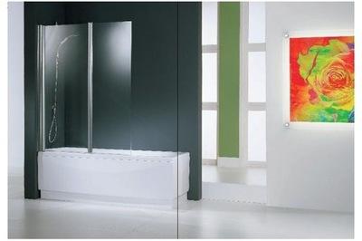 Sprchové dvere - NOVELLINI AURORA 2 vaňa, strieborná CAB
