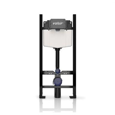 Montážny rám pre závesné WC - WC toaletný regál VALSIR WINNER-S H-114 pre ľahké budovy