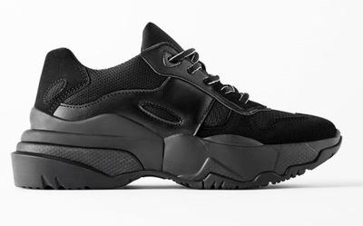 Zara Women nowe sneakersy Botki 37
