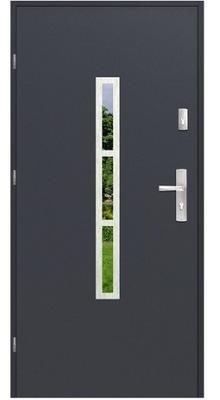 двери Внешние MALAGA Стали