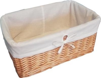 Kosz wiklina na pranie 30x25x15 PRODUCENT
