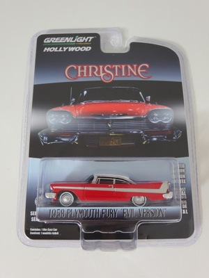 Greenlight 1:64 Christine - Plymouth Fury 58 Evil