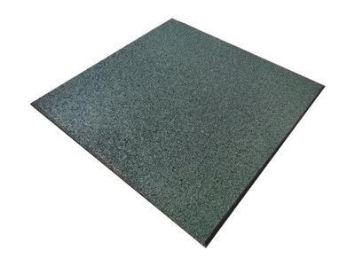 puzzle, płyta, kwadrat gumowy 3cm zielony