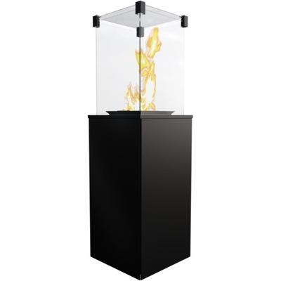 Plynový krb - Ohrievač vody, plynu, voľne stojace, TERASA, MINI list