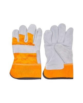 перчатки рабочие КОЖАНЫЕ DWOINOWE телячья кожа