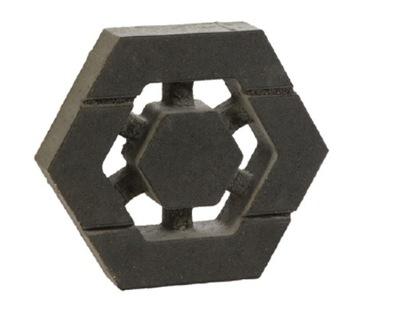 кубик Hexo 8 см II сорт АЖУР Серый Libet