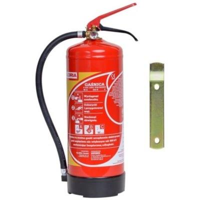 Огнетушитель порошковое покрытие Глория PD 6 GX 6кг ABC/E EN 3