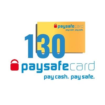 PaySafeCard 130 zł ( 100 + 30)