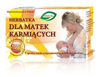 HERBATKA DLA KARMIĄCYCH MATEK 20szt x 2g