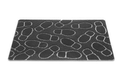 Stierač gumové podložky pre topánky priemer 90x60
