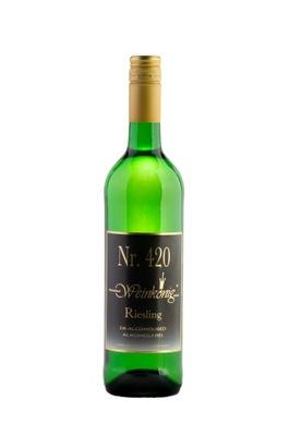 420 РИСЛИНГ - белое вино напитки Сухое