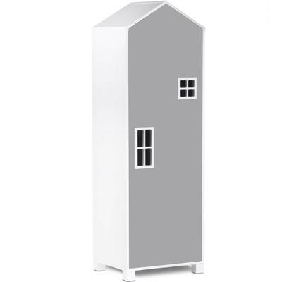 шкаф Детская СКАЗОЧНЫЙ ДОМИК Серый коллекция MIRUM