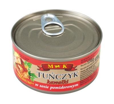 тунец кусочки в томатном соусе 170г. МК
