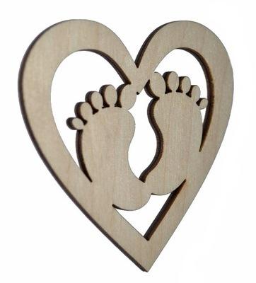 сердце Декор scrapek украшение Дерево декупаж SD4