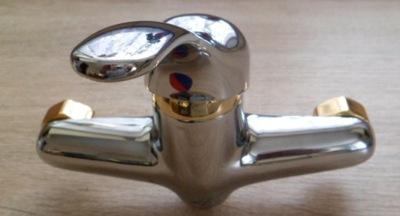 PINGWIN chróm, zlatá sprcha BSP 141M Deante