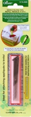 Иглы для валяния CLOVER 8906 толстые Игла Не skc