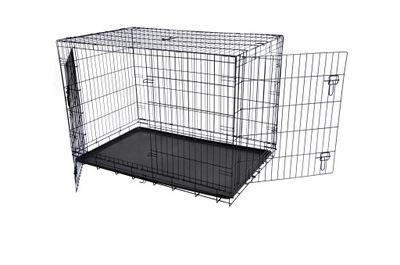 Kovová ohrádka pre psy pre psov 76x47x53