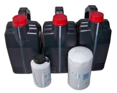 комплект фильтров двигателя Case 580SR + масло масло